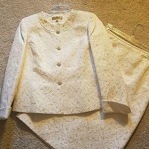 Kasper embellished suit